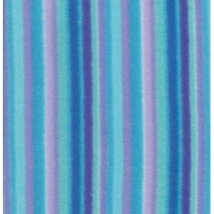 George Mendoza Colors of the Wind Fleece Fabric - Stripe - Purple