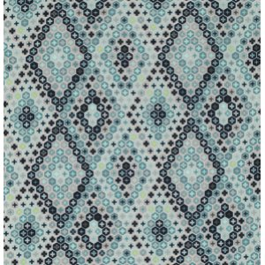 Tula Pink Salt Water Fabric - Tortoise Shell - Aqua