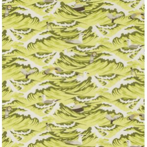 Tula Pink Salt Water Fabric - Sea Debris - Seaweed