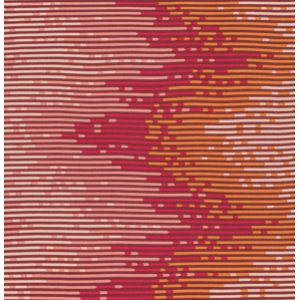 Tula Pink Salt Water Fabric - Sea Stripes - Coral