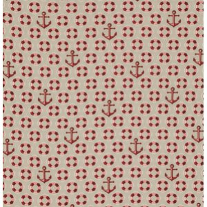 Tula Pink Salt Water Fabric - Floaties & Sinkies - Coral