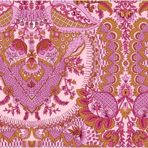 Amy Butler Alchemy Quilt Cotton Fabric - Flora - Rosebud