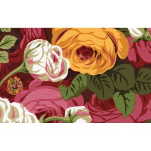 Philip Jacobs Rambling Roses Fabric - Natural