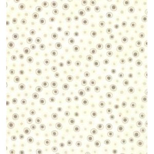 Sandy Gervais Flirt Fabric - Small Dot - Grey (17709 15)