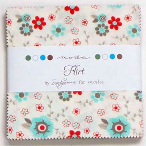 Sandy Gervais Flirt Precuts Fabric - Charm Pack