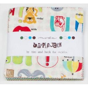 Tim and Beck Apple Jack Precuts Fabric - Charm Pack