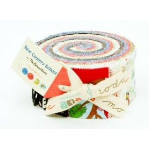 Berenstain Bears Bear Country School Precuts Fabric - Jelly Roll
