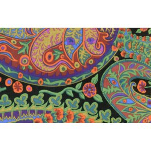 Kaffe Fassett Paisley Jungle Fabric - Moss