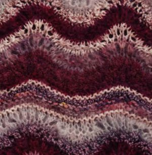 Colinette Absolutely Fabulous Throw Kit - Wineberry