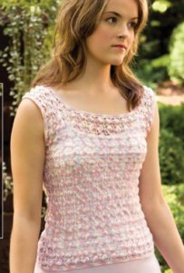 Nazli Gelin Garden 10 Wisteria Top Kit - Crochet for Adults