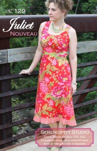 Serendipity Studio Sewing Patterns - Juliet Nouveau Pattern