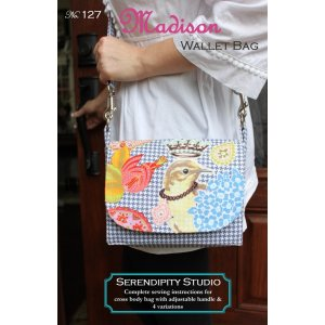 Serendipity Studio Sewing Patterns - Madison Wallet Bag Pattern