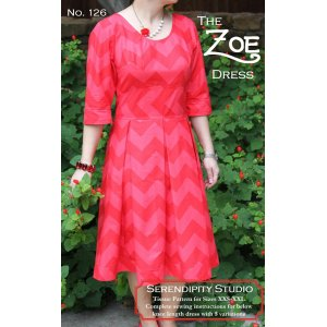 Serendipity Studio Sewing Patterns - Zoe Dress Pattern