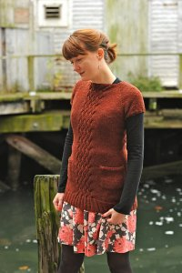 Sweet Grass Mountain Silk 2 Ply Winged Knits Jetty Sweater Kit - Women's Pullovers