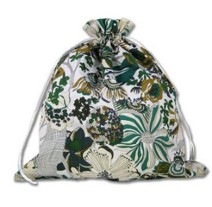 della Q Large Eden Cotton Project Bag (119-2) - 138 Shades of Green