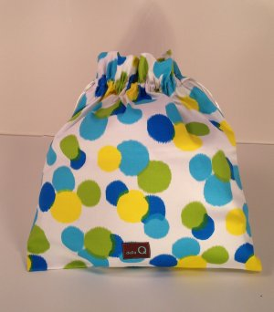 della Q Large Eden Cotton Project Bag (119-1) - 142 Confetti