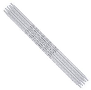 "Addi Aluminum Double Point Needles - US 9 (5.50mm) - 9"" Needles"