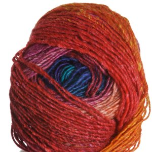 Noro Silk Garden Lite Yarn - 2080 Turq, Purple, Red, Orange (Discontinued)