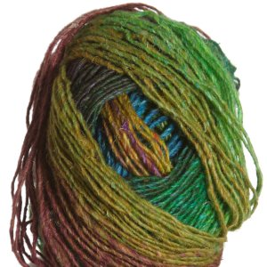 Noro Silk Garden Lite Yarn - 2082 Green, Gold, Blue, Sienna