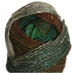 Noro Silk Garden Lite Yarn - 2089 Greens, Gold, Natural