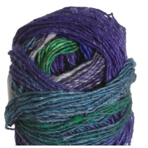 Noro Silk Garden Lite Yarn - 2092 Royal, Purple, Green