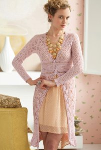 Classic Elite Silky Alpaca Lace Lace Coat Kit - Dresses and Skirts