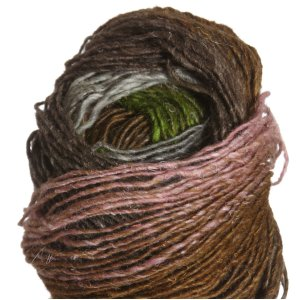 Noro Silk Garden Lite Yarn - 2094 Silver, Green, Orange, Pink