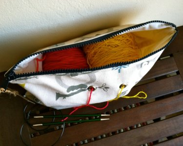 Top Shelf Totes Yarn Pop - Double - Natural Owls