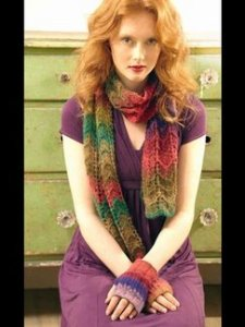 Noro Hazel Scarf Kit - Scarf and Shawls