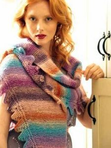 Noro Clara Shawl Kit - Scarf and Shawls