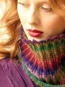 Noro Shiraito Vera Cowl Kit - Scarf and Shawls