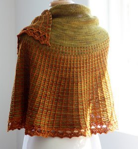 Dream In Color Smooshy Carson Shawl Kit - Scarf and Shawls