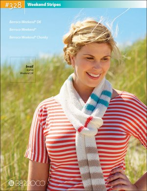 Berroco Pattern Books - 328 - Weekend Stripes