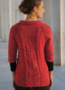 Cascade 220 Lincoln Cardigan Kit - Women's Cardigans