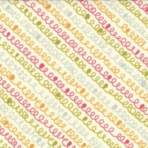 Sweetwater Noteworthy Fabric - Fly a Kite - Multi (5501 11)