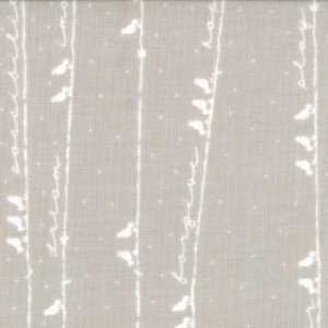 Sweetwater Noteworthy Fabric - Sing Out Loud - Cloudy (5502 26)