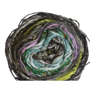 Noro Koromo Yarn - 08 Charcoal, Sky Blue, Purple