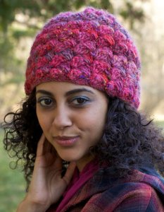 Berroco Lodge Peel Hat Kit - Crochet for Adults