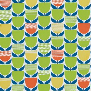Erin McMorris Moxie Fabric - Buttercup - Grass