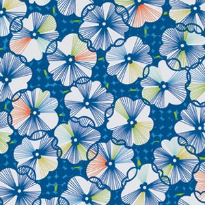 Erin McMorris Moxie Fabric - Trixie - Royal