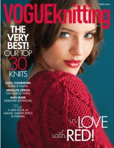 Vogue Knitting International Magazine - '12/13 Winter