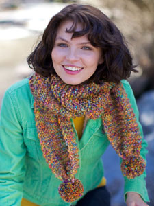 Berroco Boboli Quick Keeler Scarf Kit - Scarf and Shawls