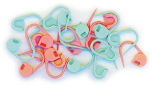 Clover Stitch Markers - Locking Stitch Markers