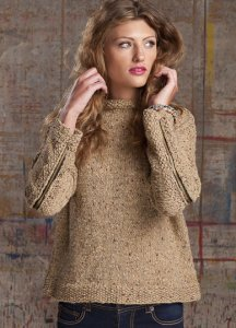 Tahki Stacy Charles Donegal Tweed Bixby Pullover Kit - Women's Pullovers