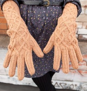 Madelinetosh Pashmina Kelsey Gloves or Mitts Kit - Hats and Gloves
