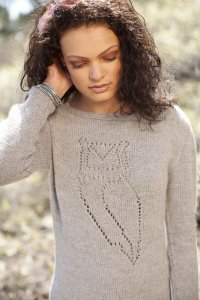 Shibui Baby Alpaca DK Nocturnal Pullover Kit - Women's Pullovers