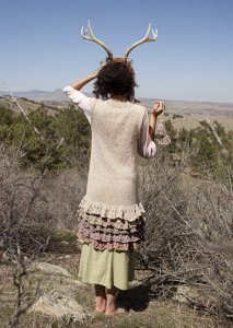 Rowan Purelife Revive Gypsy Petticoat Kit - Women's Cardigans
