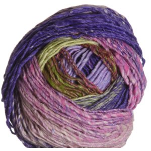 Noro Ayatori Yarn - 21 Purple, Lime, Fuschia