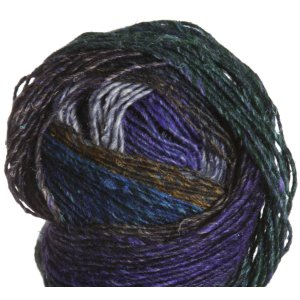 Noro Silk Garden Lite Yarn - 2088 Navy, Purple, Turq, Brown