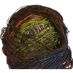 Noro Silk Garden Lite Yarn - 2090 Brown, Sand, Orange, Lime